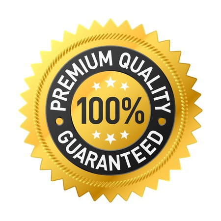 Premium kwaliteitslabel Vector Illustratie