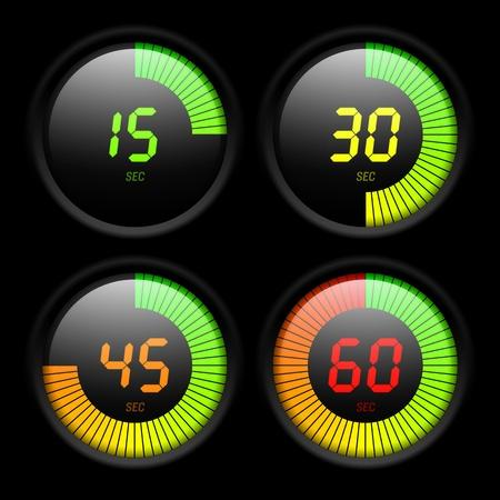 chronom�tre: Minuterie num�rique