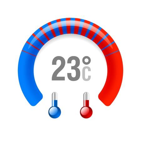 hot temperature: Term�metro