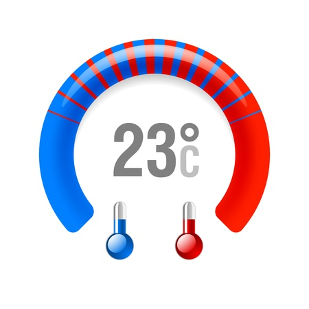chaud froid: Thermom�tre