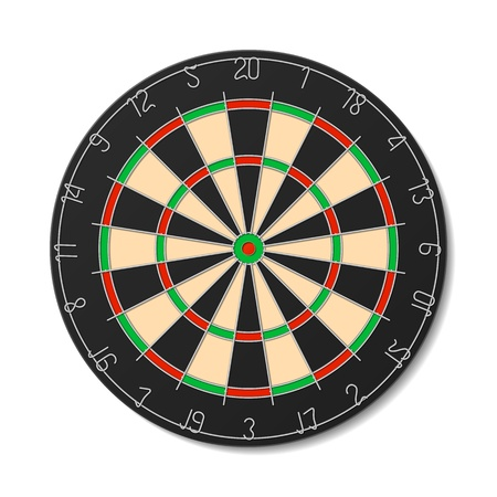 dart board: Dartboard Illustration