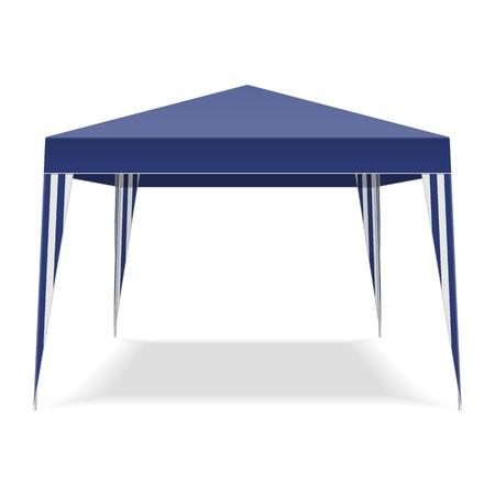 палатка: Pop Up беседка Иллюстрация