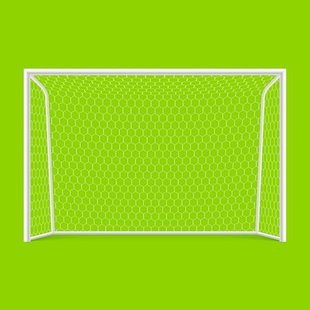 pallamano: Calcio obiettivo vista frontale
