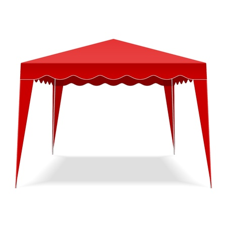 car garden: Pop Up Gazebo Illustration