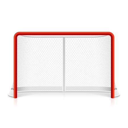 hockey sobre hielo: El hockey sobre hielo neta Vectores
