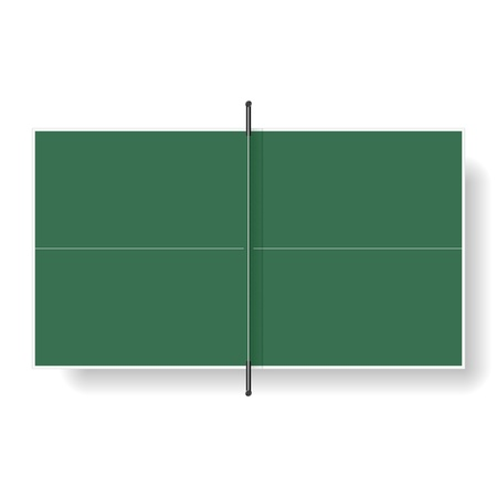 tennis net: Table tennis table
