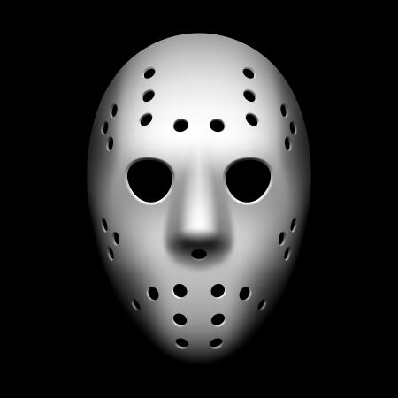 hockey sobre hielo: M�scara de hockey