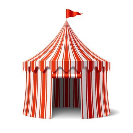 флагшток: Большая палатка Иллюстрация