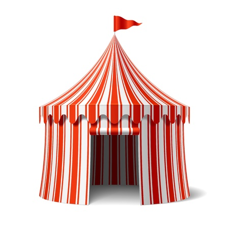 amusement: Circus tent
