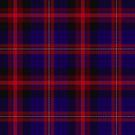 fabrics: Tartan, plaid patroon Naadloze illustratie Stock Illustratie