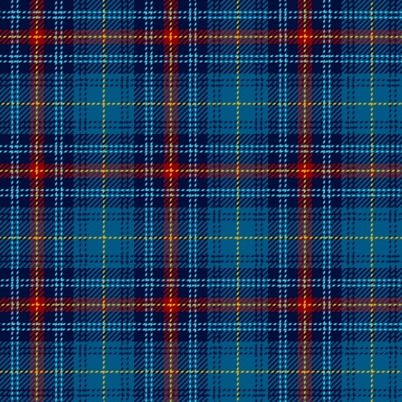 Tartan, plaid pattern  Seamless illustration  Stock Vector - 14223236