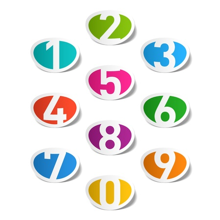 Numbers set Stock Vector - 14223240