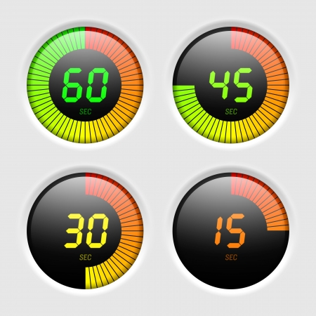indicatore: Timer digitale