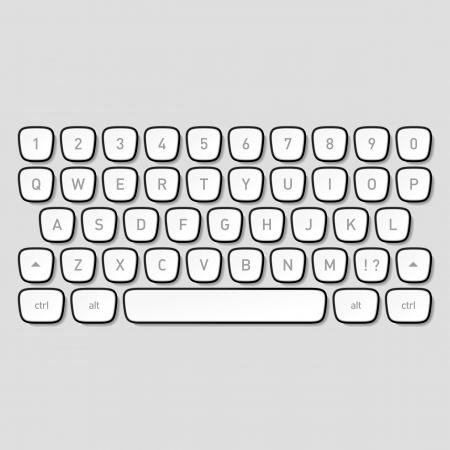 mecanografía: Las teclas del teclado