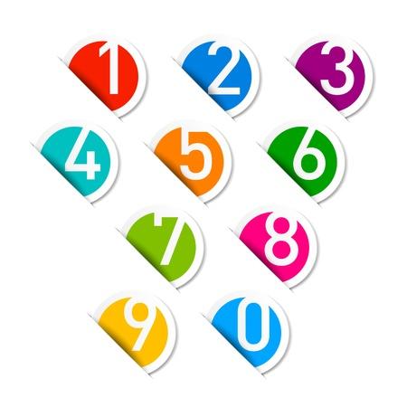 Numbers set Stock Vector - 14886705