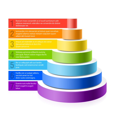 jerarquia: Pirámide gráfico