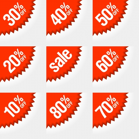 offer icon: Discount labels