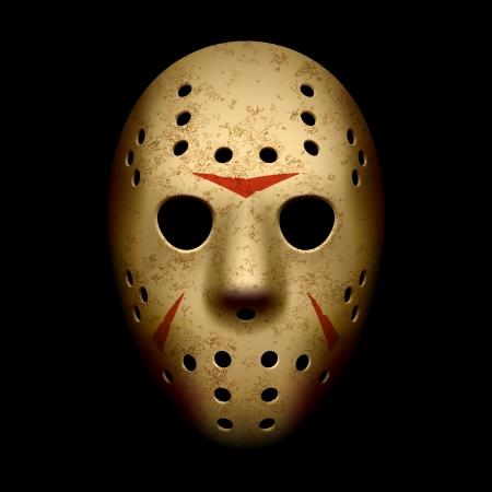 Scary hockeymasker