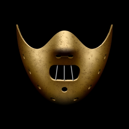 maski: Hannibal Halloween maska Ilustracja