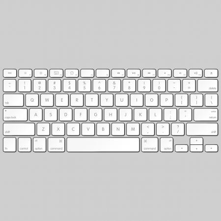 клавиатура: Компьютерные клавиатуры Иллюстрация