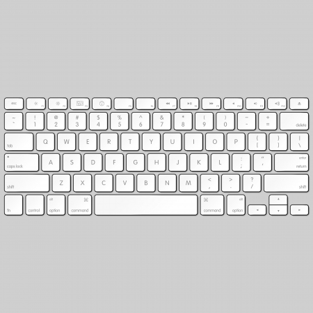 keyboard: Computer-Tastatur Illustration