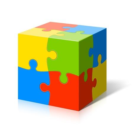 kocka: Puzzle kocka