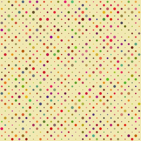 polka dot fabric: Seamless Polka dot pattern