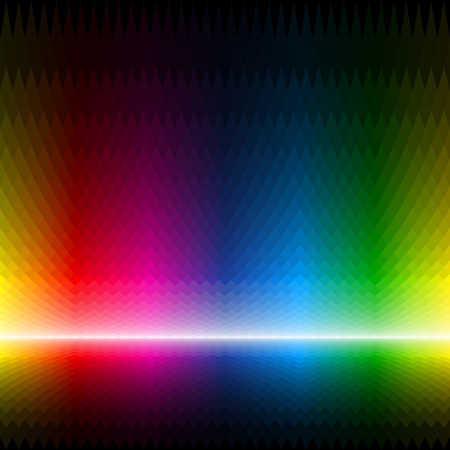 color chart: Seamless multicolor background Illustration