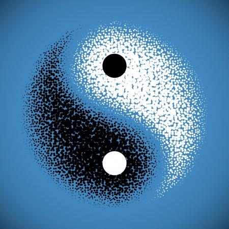yang yin: Yin Yang s�mbolo