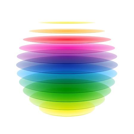 the sphere: Rainbow esfera