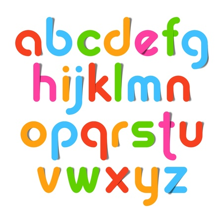 latin alphabet: Alphabet letters