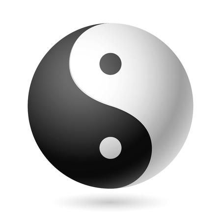 simbolo de paz: Yin Yang símbolo