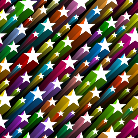 star shapes: Seamless stars pattern