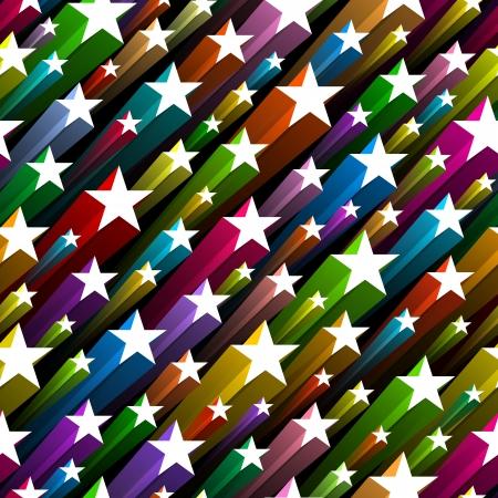 star symbols: Seamless stars pattern