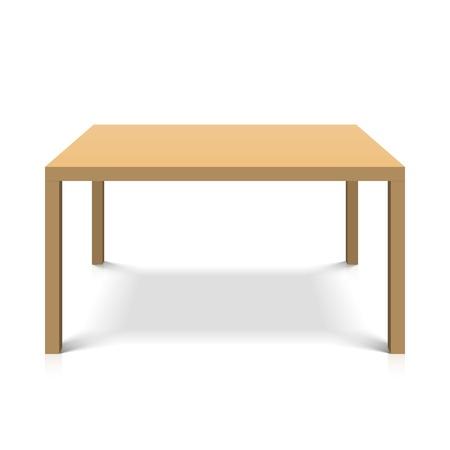 muebles de madera: Mesa de madera