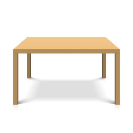 Monolith: Wooden table