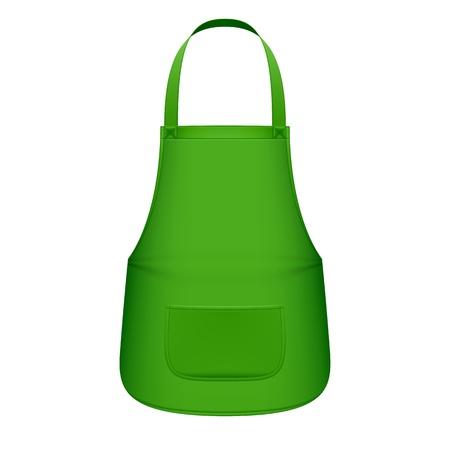 kitchen ware: Green kitchen apron