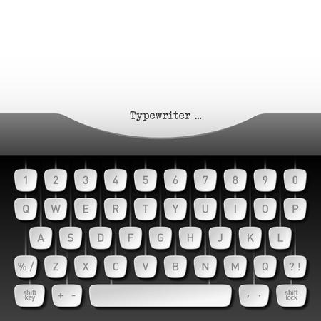 the typewriter: M�quina de escribir Vectores