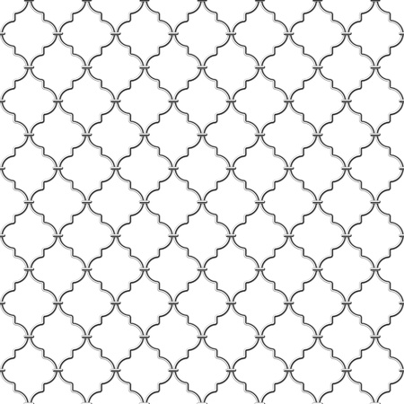 lattice window: Seamless metal lattice
