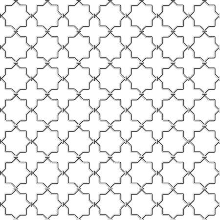 metal net: Ret�cula de metal sin fisuras Vectores
