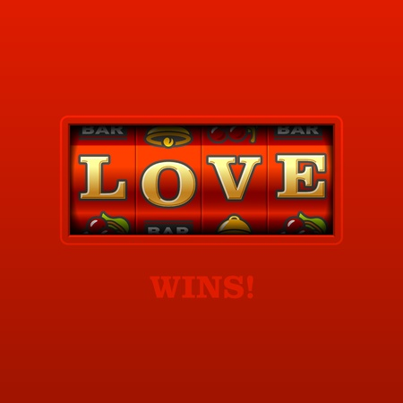 gambling counter: Love Wins