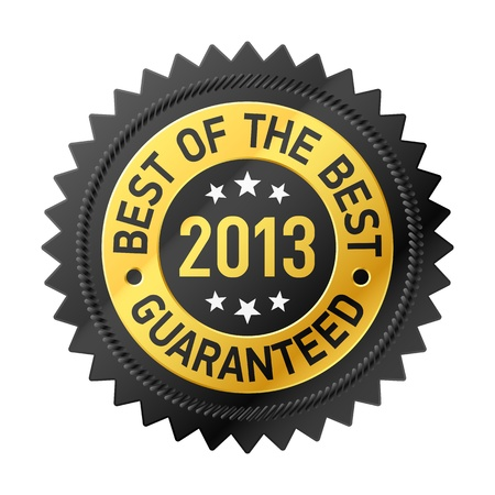 Best of the Best 2013 label Stock Vector - 17585261