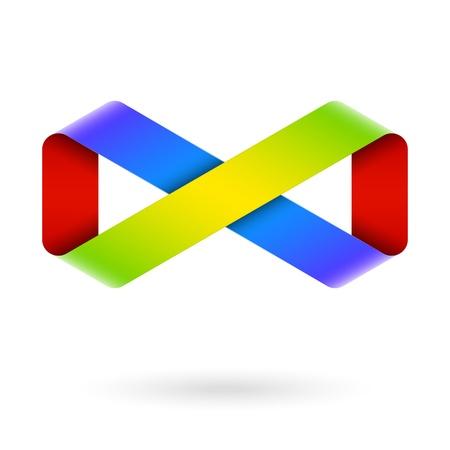 Infinity symbole Vecteurs