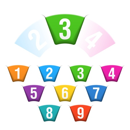 Numbers set Stock Vector - 18316713