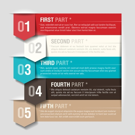 web layout: Design template