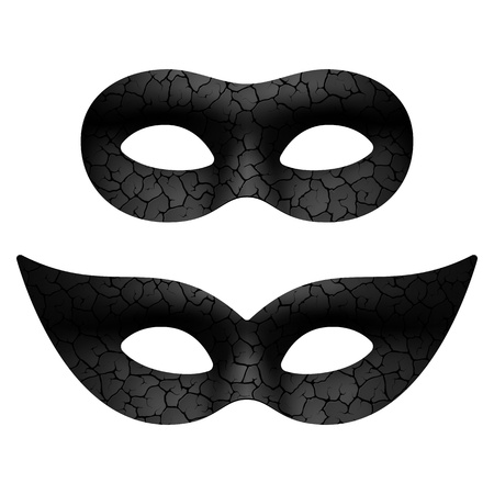 carnival mask: Masquerade eye mask Illustration
