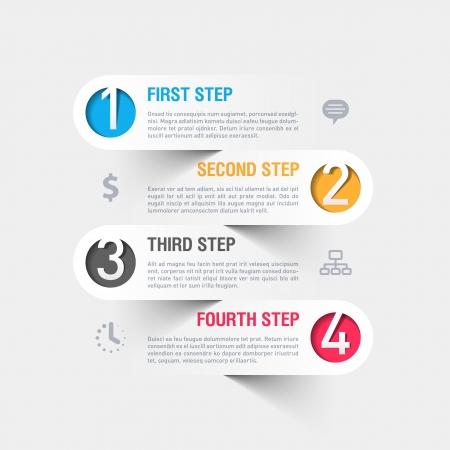 Entreprise moderne infographie mod?le