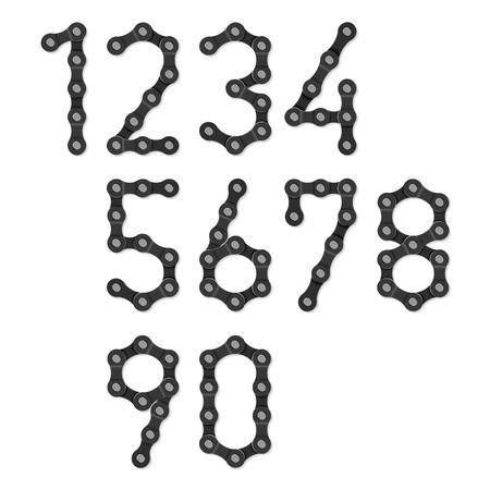bike parts: Bicycle chain numbers