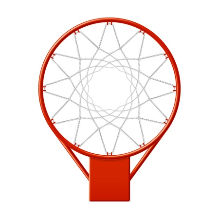 basket: Basketball hoop Illustration