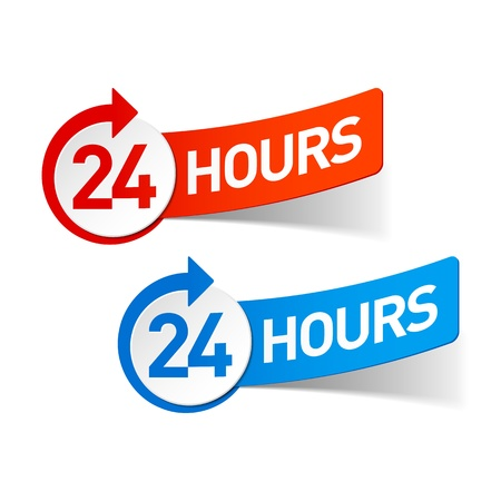 24: 24 hours